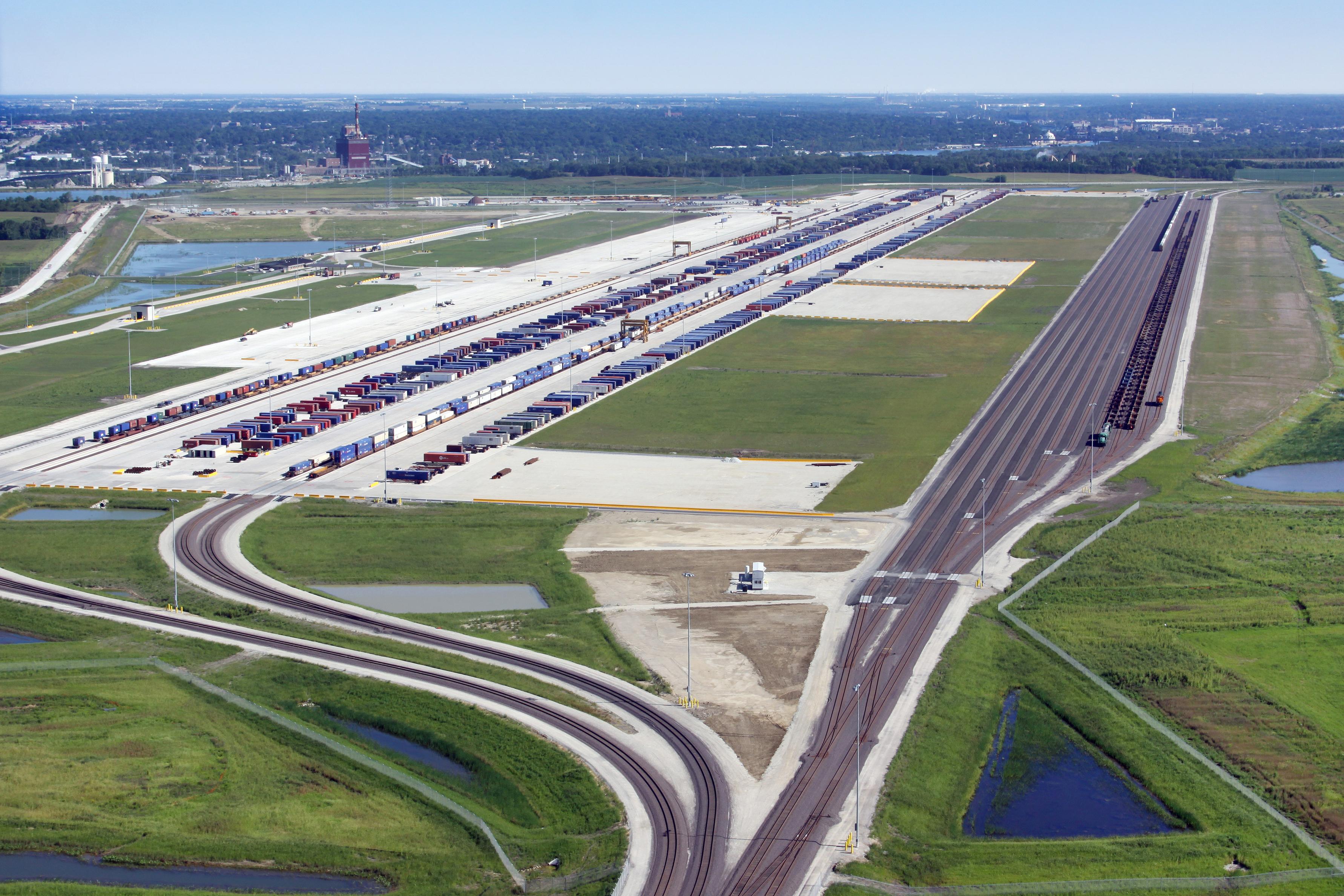 Up Joliet Intermodal Terminal Photo Gallery