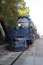 "<a href=""/newsinfo/graphics/media_kit/steam/4014/lustig_4014-1.jpg"">High-Res Version</a><br>No. 4014, at rest outside<br> the RailGiants Museum, Pomona, Calif."