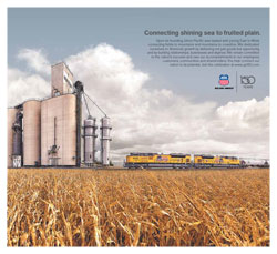"<a href=""/newsinfo/attachments/media_kit/up150/print_ad_owh_connecting.pdf"">Print from PDF</a><br><strong>Connecting shining sea to fruited plain.</strong><br>Upon its founding, Union Pacific was tasked with joining East to West, connecting fields to mountains and mountains to coastline. We dedicated ourselves to America's growth by delivering not just goods but opportunity, and by building relationships, businesses and skylines. We remain committed to the nation's success and owe our accomplishments to our employees, customers, communities and shareholders. You help connect our nation to its potential. Join the celebration at www.up150.com."
